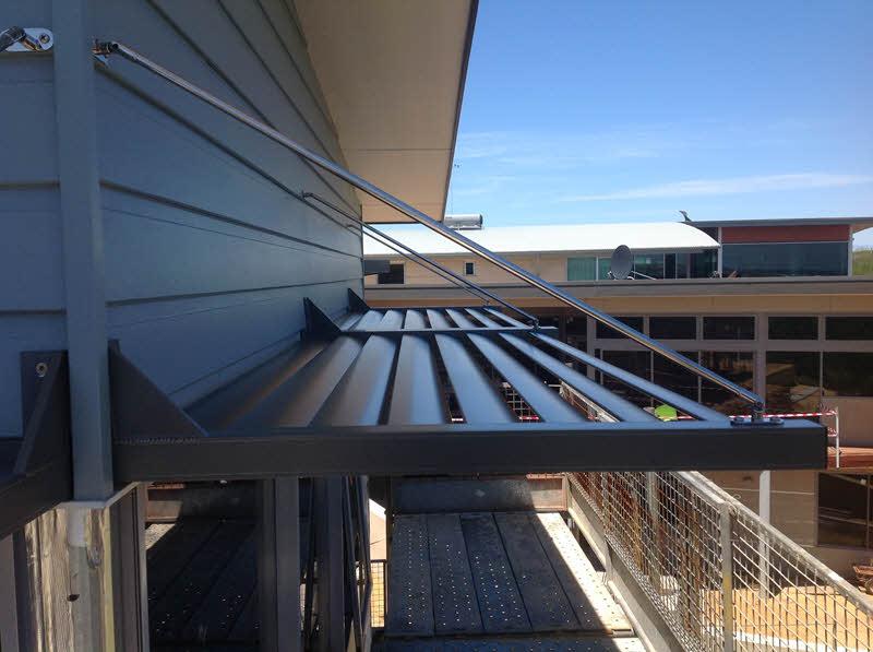 Solar Shade Awning - Naturaliste Balustrades